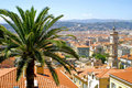 Panorama de Nice, France Photographie stock libre de droits