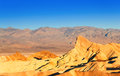 Panorama of the Death Valley rocks Royalty Free Stock Photo