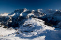Panorama Dents du Midi Royalty Free Stock Images