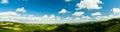 Panorama of Dorset England