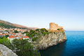 Panorama of Dubrovnik, Croatia Royalty Free Stock Image