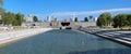 Panorama Dziejowy kwadrat Yekaterinburg Zdjęcia Royalty Free