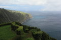 Panorama of the eastern part of Sao Miguel, Azores Stock Photos
