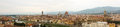 Panorama of florence italy large stitched file Royalty Free Stock Images