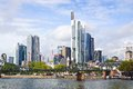 Panorama of frankfurt am main germany Royalty Free Stock Photography