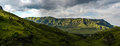 Panorama of giants castle game reserve dramatic views the hills the drakensberg range in the kwazulu natal south africa Royalty Free Stock Photos