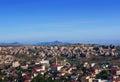 Panorama of Goreme village in Cappadocia, Anatolia, Turkey Royalty Free Stock Photo