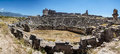 Panorama of the Greek theatre Royalty Free Stock Photo