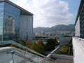 Panorama from the Hyogo Prefectural Museum of Art, Kobe, Japan Royalty Free Stock Photo
