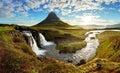 Panorama - Iceland landscape Royalty Free Stock Photo