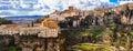 Panorama of impressive Cuenca Royalty Free Stock Photo