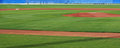 Panorama of the infield Royalty Free Stock Images