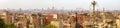 Panorama of Islamic Cairo Royalty Free Stock Photo