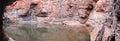 Panorama - Karijini National Park, Western Australia Royalty Free Stock Photo