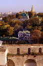 Panorama of Kiev Royalty Free Stock Photos