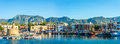 Panorama Of Kyrenia Harbour. K...