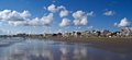 Panorama of la baule morbihan brittany france Royalty Free Stock Photography
