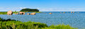 Panorama landscape baltic sea kã smu estonia Royalty Free Stock Photo