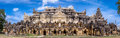 Panorama of Maha Aungmye Bonzan Monastery ,Inwa ancient city,Mandalay State,Myanmar. Royalty Free Stock Photo
