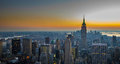 Panorama of manhattan new york city Royalty Free Stock Images