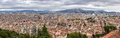 Panorama of marseille from notre dame de la garde Stock Photo