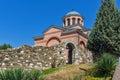 Panorama of Medieval Monastery St. John the Baptist, Kardzhali Royalty Free Stock Photo