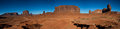 Panorama of the monument valley arizona usa Stock Photos