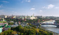 Panorama of Moscow Kremlin Royalty Free Stock Photo