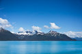 Panorama of mountains in alaska united states beautiful Royalty Free Stock Photo
