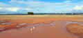 Panorama Of Muddy Pool After R...