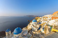 Panorama of Oia, Santorini Royalty Free Stock Image