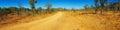 Panorama of outback Australia Royalty Free Stock Photo