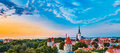 Panorama Panoramic Scenic View Landscape Old City Royalty Free Stock Photo