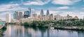 Panorama of Philadelphia Royalty Free Stock Photo