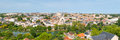 Panorama of Poitiers in summer Royalty Free Stock Photo