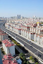 Panorama of Qingdao City,china Royalty Free Stock Image