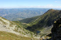Panorama in Rodnei Mountains Royalty Free Stock Photo