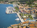 Panorama Rovinj Royalty-vrije Stock Foto's