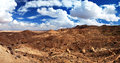Panorama of Sahara Desert Royalty Free Stock Images