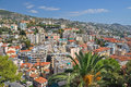 Panorama of San Remo, Italy Royalty Free Stock Photo