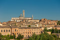 Panorama of Siena, Tuscany, Italy Stock Photos