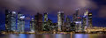 Panorama of singapore city skyline see my other works in portfolio Stock Image