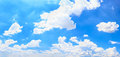 Panorama sky and cloud. Royalty Free Stock Photo