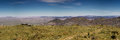 Panorama of Spreetshogte pass road Royalty Free Stock Photo