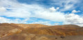Panorama of the steppe Royalty Free Stock Photo