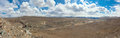 Panorama of the steppe Royalty Free Stock Photography