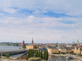 Panorama of Stockholm, Sweden Stock Images