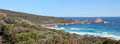 Panorama of Sugar Loaf Rock Stock Photos