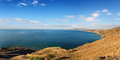 Panorama summer coastline crimea ukraine Royalty Free Stock Image