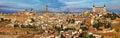 Panorama of Toledo Royalty Free Stock Photo